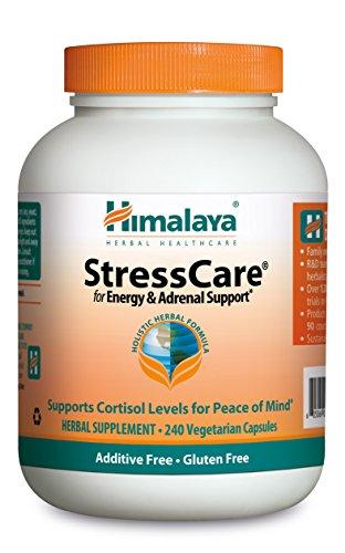 Himalaya StressCare with Ashwagandha & Gotukola for Natural Stress Relief, 240 Capsules, 2 Month Supply