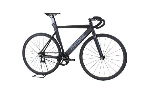 Throne TRKLRD Track Lord Complete Bike (55cm Frame; Black/Silver)