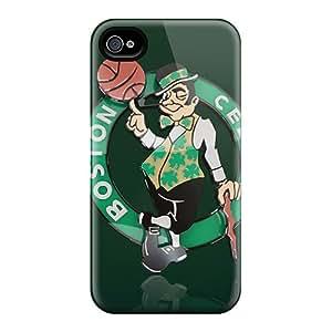 Tpu Case Cover Compatible For Iphone 4/4s/ Hot Case/ Boston Celtics Logo