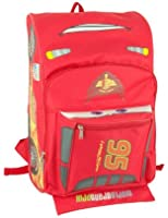 "Disney Pixar Cars Lightning Mcqueen 16"" backpack Face"
