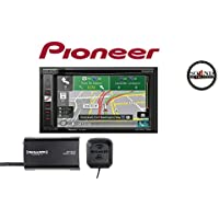 Pioneer AVIC-5201NEX In Dash Navigation A/V Receiver 6.2 WVGA Touchscreen Display SiriusXM Tuner and Antenna with a FREE SOTS Air Freshener Package