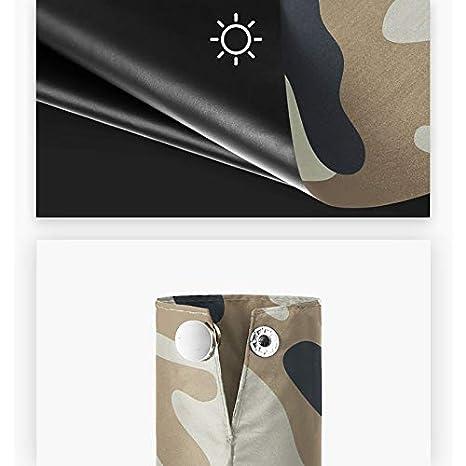 Couleur : A ZDNALS Parapluie Automatique Pliant Parapluie Automatique surdimensionn/é Parapluie Tendance Tendance Multicolore Parapluie