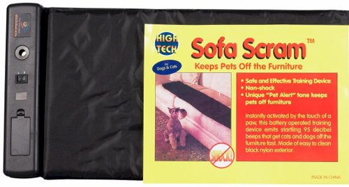 High Tech Pet Sofa Scram Sonic Pad Pet Deterrent