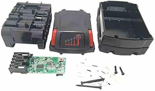 Semoic M18B Li-Ion Battery Plastic Case Charging Protection Circuit Board for Milwaukee 18V M18 48-11-1815 3Ah 4Ah 5Ah PCB Board Shell
