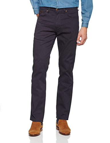 Uomo Arizona Straight Wrangler blue Blu Jeans Stretch WBqwnaIO
