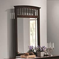 Coaster Home Furnishings 202084 Casual Contemporary Mirror, Cappuccino