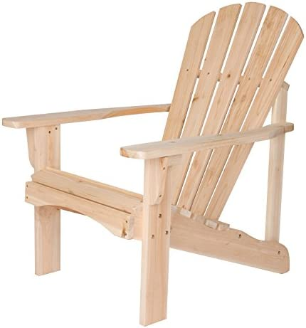 Shine Company Inc. 4617N Rockport Adirondack Chair, Natural
