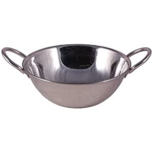 Probus Double Walled Stainless Steel Balti Serving Dish Small 13cm Diameter