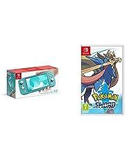 Nintendo Switch Lite - Turquoise + Pokemon Sword