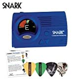 Snark SN-3 Guitar and Bass Tuner with SN3 Tap Tempo Metronome and Full Color Display - Includes: Guitar Pick Sampler