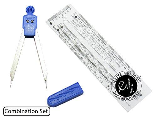 EMI ROYAL Deluxe EKG Caliper and EKG Ruler EKR-303