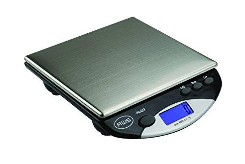AMERICAN WEIGH SCALES AMW Series Precision Digital Kitchen Scale 6KG x 1 KG (AMW-13-BK)