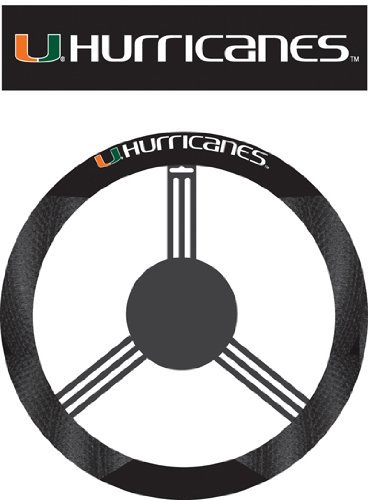 NCAA Steering Wheel Cover NCAA: Miami Hurricanes