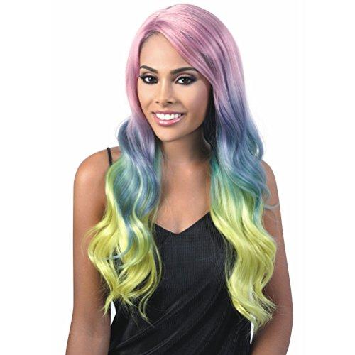 Heat Motown (Motown Tress (L. Angelic) - Heat Resistant Fiber Lace Front Wig in AURORA)