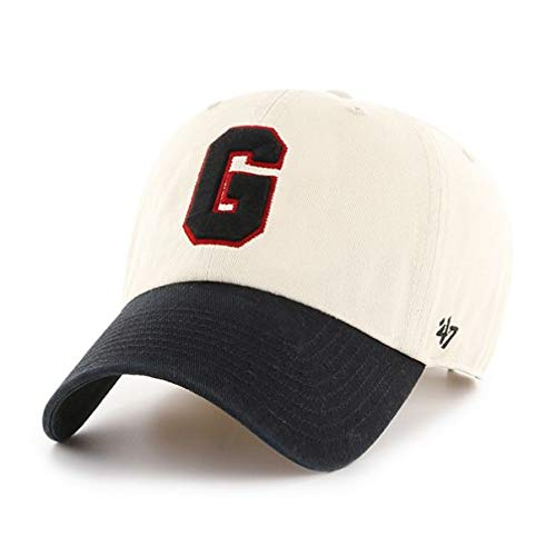 '47 NCAA Georgia Bulldogs Mens Two Tone Clean Up Adjustable Hattwo Tone Clean Up Adjustable Hat, Natural, One Size