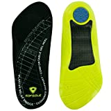 Sof Sole Insoles Women's PLANTAR FASCIA Support 3/4 Length Gel Shoe Insert, Women's 6-11