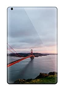 Top Quality Case Cover For Ipad Mini 2 Case With Nice Golden Gate Bridge Appearance 8773273J40140965