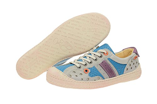 Women's 17585 blue Up blue Lace Kombi Eject Flats v1qpRwcp6