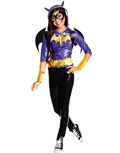 Rubie's Costume Kids DC Superhero Girls Deluxe Batgirl Costume, Medium ()