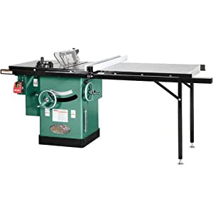 Grizzly G1023RLX Cabinet Left-Tilting Table Saw, 10-Inch