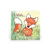 Jellycat Board Book, I Wish..., 8.5 inches x 8.5 inches