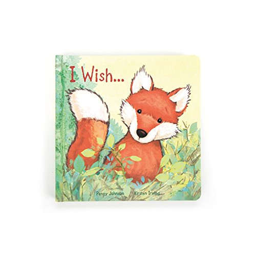 Jellycat Board Book I Wish...