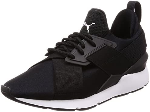 Puma Women's MUSe Satin Ep Wn'S Low-Top Sneakers, Black ...