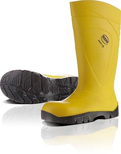 bekina de PU de botas Step Lite X Amarillo S5, con Tapa de acero y mediante pedalada Protección: Amazon.es: Bricolaje y herramientas