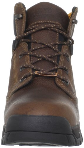 Timberland Pro Mens Helix 6 Inches Mjuk Tå Arbete Boot Brown