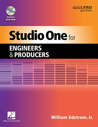 Studio One for Engineers and Producers (Quick Pro Guides)