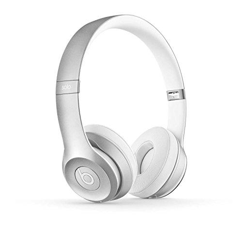 Headphones Silver Headphones (Beats Solo2 Wireless On-Ear Headphone - Silver (Old Model) (Refurbished))