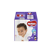 HUGGIES LITTLE MOVERS, Baby Diapers, Size 3,  92ct