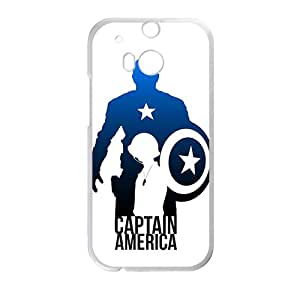 Brave Captain America Cell Phone Case for HTC One M8