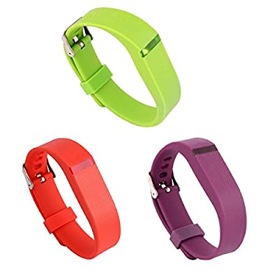 Doestyle Fitbit Flex Wristband - Fitbit Flex Replacement Band With Metal Watch Clasp, Color Bands for Fitbit Flex , Fitbit Flex Accessory Band