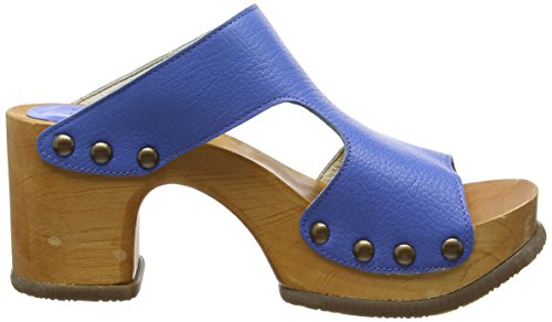002 Sandalen Blue FLY London Damen Open Toe Smurf Rhia995fly Blau XxzfOSq