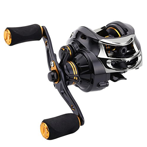 SeaKnight Lycan Baitcasting Reel- 7.0 1 High Speed, Magnetic Brake System, Max Drag 11LB, 7oz Lightweight Fishing Reel