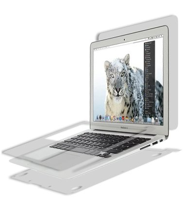 Apple-MacBook-Air-Full-Body-Skin-2010-2012133-Skinomi-TechSkin-Full-Coverage-Skin-Protector-for-Apple-MacBook-Air-13-Front-Back-Clear-HD-Film