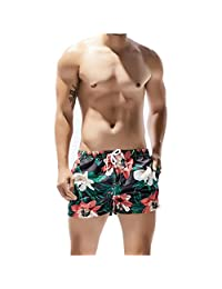 Tyjtyrjty Men's Sexy Swimwear Shorts Surf Swimsuit Swim Trunks Lightweight Short