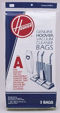 Hoover Vacuum Cleaner Bags (Hoover 4010001a)