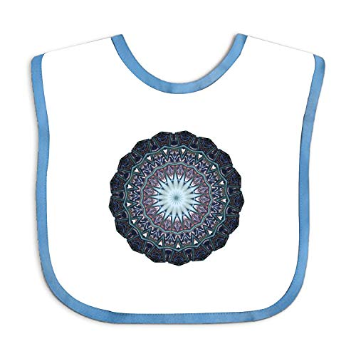 - Baby Bandana Drool Bibs -Crescent Moon-Baby Bibs for Girls,
