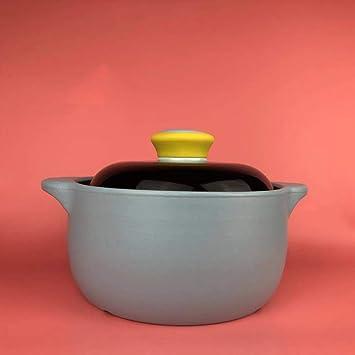 YL Cazuela Antiadherente, Horno de cerámica holandés, Olla de ...