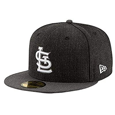 St. Louis Cardinals Fitted Size 7 1/8 Hat Cap - Charcoal Gray