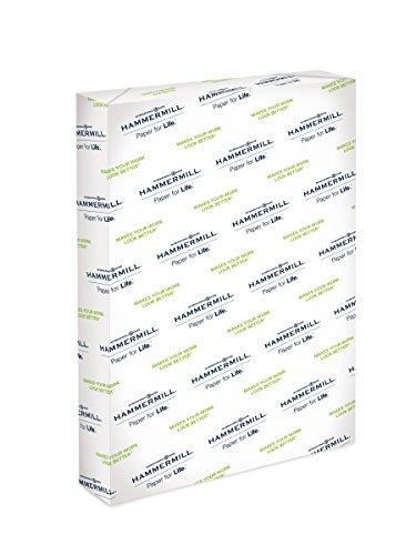 - Hammermill Paper, Premium Color Copy Paper, 12 x 18 Paper, 28lb Paper, 100 Bright, 1 Ream / 500 Sheets (106125R) Acid Free Paper