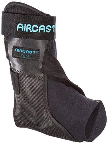 (Aircast 02PMR Airlift PTTD Ankle Brace, Right, Medium)