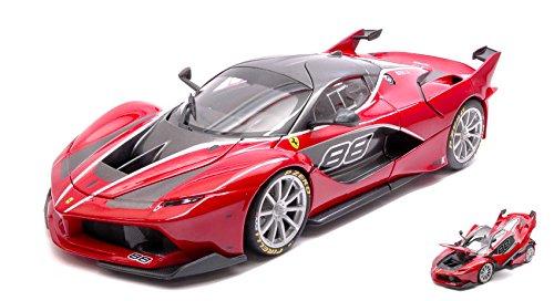 FERRARI FXX-K N.88 rosso SIGNATURE 1 18 - Burago - Auto Competizione - Die Cast - Modellino