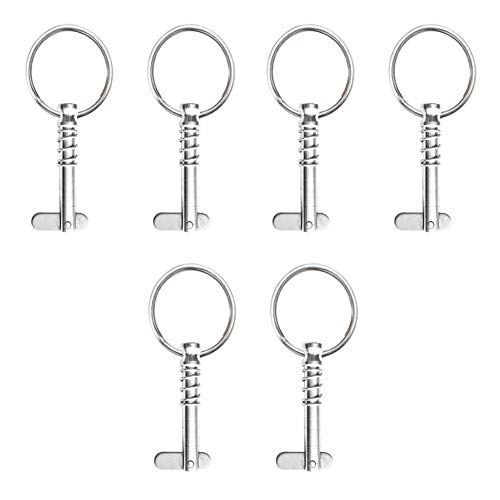 VinBee 6 Pack Quick Release Pin 1/4