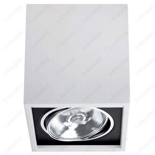 FidgetGear LED COB Ceiling Lamp Down Light Fixture Super Market Indoor Lighting Living Room White Warm White