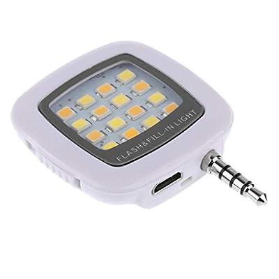 FidgetFidget Mini Selfie Smart LED Camera Flash Light for Phone Rechargeable