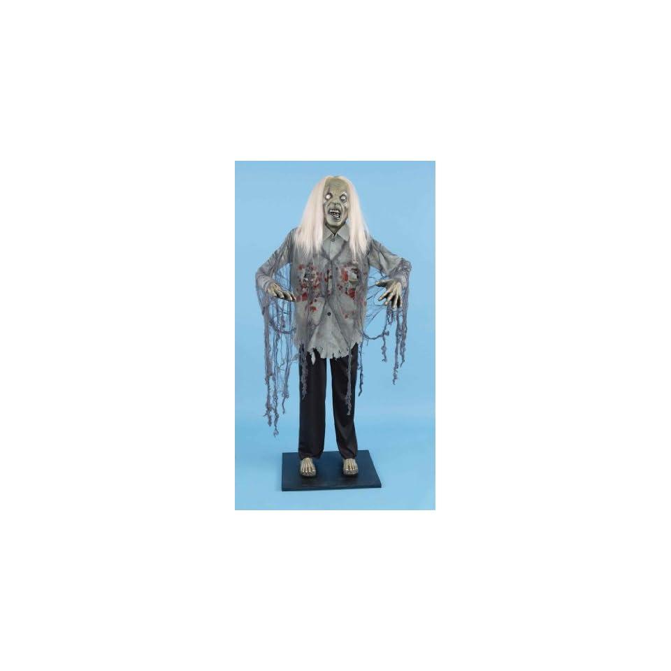 Deluxe 6 Standing Zombie Halloween Prop Decoration Toys & Games