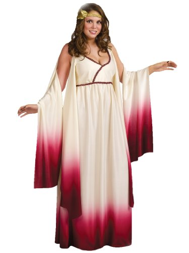 Venus Goddess of Love Costume - Plus Size 1X/2X - Dress Size 16-24 (Plus Size Greek Goddess Costume)